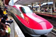 200-mph red bullet trains thrill rail-mad Japan - CNET