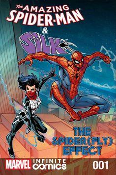 The Amazing Spider-Man and Silk - Todd Nauck