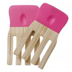 Bright and cheerful matt salad servers made from bamboo, featuring amazing pops of bright colours and original design. Oliver Bonas Sale, Bright Colors, Colours, Kitchen Colors, My Dream Home, Interior And Exterior, Colour Pop, Bamboo, Salad