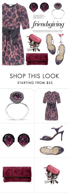 """""""Gather 'Round: Friendsgiving"""" by littlehjewelry ❤ liked on Polyvore featuring Rebecca Taylor, L'Autre Chose, Sole Society, contestentry, pearljewelry, friendsgiving and littlehjewelry"""
