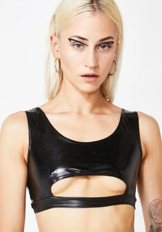Light Up Clothes, Rave Gear, J Valentine, Leather Bra, Triangle Bra, Superfly, Cropped Tank Top, Bra Tops, Festival Fashion