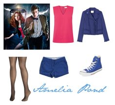 """""""Amelia Pond"""" by emolee-styles ❤ liked on Polyvore featuring Avenue, J.Crew, Ted Baker, Rebecca Taylor and Clinical Care Skin Solutions"""
