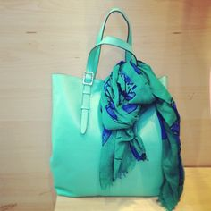 Get carried away in cool mint.