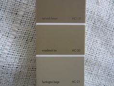 paint colors from Down to Earth Style blog