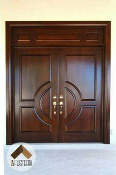 32 Ideas Main Door Entrance Ideas Home Modern Front Door, Windows And Doors, Double Door Design, Door Design Wood, Entrance Doors, Front Door Porch, Wooden Doors Interior, Traditional Front Doors