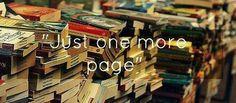 """""""Solo una página mas"""" siempre se dice lo mismo"""
