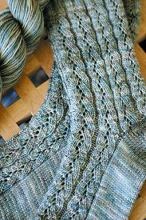 An easy but elegant sock pattern featuring cuff down construction with a short…