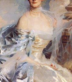 John Singer Sargent - The Countess of Essex (detail) Medieval Art, Renaissance Art, New Fine Arts, Pre Raphaelite, Singer Sargent, Godly Woman, Old Art, Figure Painting, Traditional Art
