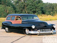 1950 Buick Special Station Wagon, real steel, look at that chrome. Vintage Cars, Antique Cars, Station Wagon Cars, Buick Cars, Buick Gmc, Woody Wagon, Panel Truck, Drag Racing, Hot Cars