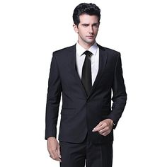 Mens One Button Formal 2 Piece Suits Slim Fit Multi-Color Wedding Tuxedo Tuxedo Wedding, Wedding Suits, Multicolor Wedding, Gown Suit, Tuxedo For Men, Men's Coats And Jackets, Perfect Wedding Dress, Suit Jacket, Slim