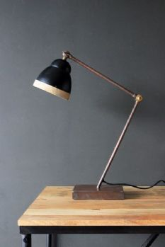 Rafael monkey table lamp view all new interiors pinterest old town iron table lamp mozeypictures