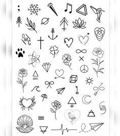 mini tattoos for women - mini tattoos ; mini tattoos with meaning ; mini tattoos for girls with meaning ; mini tattoos for women Doodle Tattoo, Diy Tattoo, Tattoo Blog, Tattoo Fonts, Tattoo Quotes, Little Tattoos, Mini Tattoos, Cute Tattoos, Body Art Tattoos