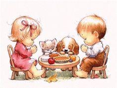 ruth morehead thanksgiving | Thanksgiving Dinner Prayers | Art- Ruth Morehead