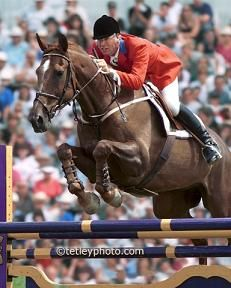 Big Ben, a Canadian international show jumper and Olympian