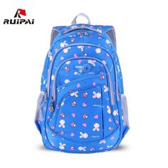 $51.65   RUIPAI 2017 School Bags for Girls Cute Printing Women's Backpacks Nylon Children Schoolbags for Girl Boys Preppy Style Back pack Outfit Accessories FromTouchy Style   Free International Shipping. Cute Backpacks For College, Fashionable Backpacks For School, College Bags For Girls, Women's Backpacks, Trendy Backpacks, Backpack Bags, Leather Backpack, Cute School Bags, Cute Bags