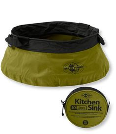Kitchen Sink... When you want it, but don't want to actually take the kitchen sink when you are camping/backpacking