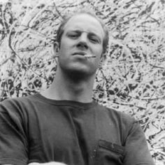 Paul Jackson Pollock 1/28/1912 – 8/11/1956 known as Jackson Pollock was an influential American painter & major figure in the abstract expressionist movement. Known for his uniquely defined style of drip painting. He enjoyed considerable fame & notoriety. Regarded as a mostly reclusive artist with a volatile personality & struggled with alcoholism. In 1945 married artist Lee Krasner who became an important influence on his career & on his legacy.
