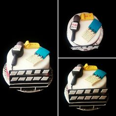 Journalist cake Torta periodista