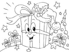 Color in the pretty Christmas presents Unique Christmas Cards, Christmas Svg, Christmas Colors, Christmas Presents, Xmas, Christmas Present Coloring Pages, Christmas Coloring Sheets, Painting Templates, Christmas Templates