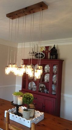DIY Mason Jar Chandelier Rustic Cedar 10 by IronLumberandLight