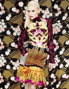 Gwen Stefani in Elle magazine
