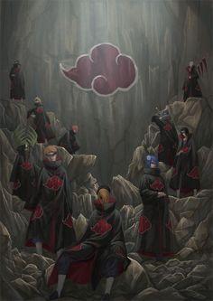 gambar akatsuki, naruto, and anime Naruto Shippuden Sasuke, Naruto Kakashi, Anime Naruto, Manga Anime, Wallpaper Naruto Shippuden, Sasuke Sakura, Naruto Wallpaper, Gaara, Boruto