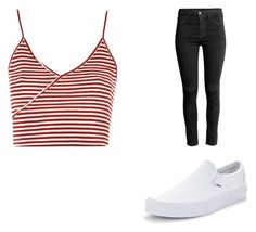 #002 by greenmush on Polyvore featuring Topshop and Vans