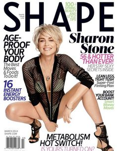 I would love to grow my hair out like this.. and i hope someday i look as good as sharon stone does at her age ha.