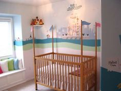 "Just look at this blog to see the extent this couple did to recreate ""it's a small world in their child's room"