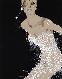 David Downton Illustrations