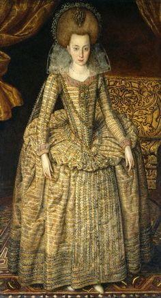 """♔ Elizabeth Stuart, Queen of Bohemia """"Winter Queen"""" - kings-and-queens Photo"""