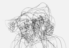 """tristetriste: """" Sweet Illness (2009) by Moisés Mahiques Moisés Mahiques uses drawings to expand and question the value system of the contemporary individual, exploring the expressive possibilities of..."""