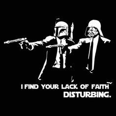 Pulp Fiction Star Wars
