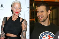 Amber Rose and Kris Humphries Seen Flirting at Playboy Mansion: Report