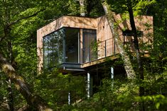 contemporary cabins on stilts - Google Search More
