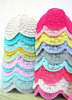 Crochet Lamp Shade Choose your color by babytogo on Etsy, $90.00