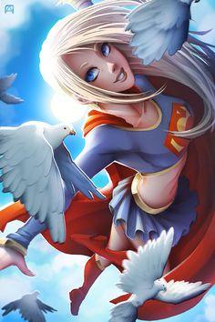 All batgirl cali logan superheroine in peril