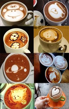 LAtte Art  HOW DOES THIS HAPPEN??  check it out how http://Go2Azon.com/g/B00PPSZHDM-MILKFROTHER