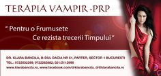 terapia vampir PRP www.klarabancila.ro