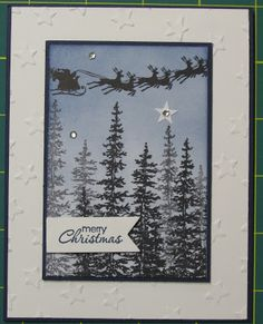 Stampin' on the Prairie: Cozy Christmas, Wonderland stamp set, Stampin' Up!