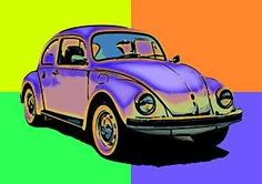 BEETLE Signed Limited Edition VW POP ART Canvas print