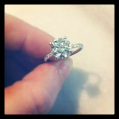 Round Brilliant Diamond Engagement Rings at TWO by LONDON. Please call (516) 918-4200 for more info!