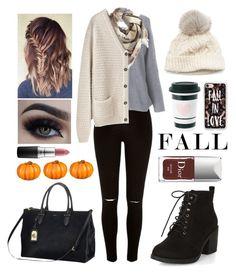 """fall"" by kyliebashant13 ❤ liked on Polyvore featuring River Island, New Look, Ralph Lauren, BP., La Garçonne Moderne, SIJJL, MAC Cosmetics, Casetify and Improvements"