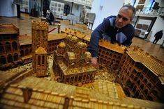 This guys up to 6 million matchsticks.. and still going!