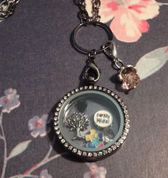 Journey Locket  Autism Awareness Black by RealCoolTreasures