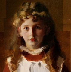 """Detail of Sargent's """"Daugters of Edward Darley Boyt""""   Museum of fine arts, boston  side note- he was 26 when he painted this. dick."""