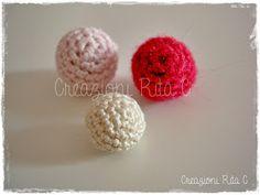 Creazioni Rita C. ... Only Handmade!: Come Realizzare una Perla a Uncinetto