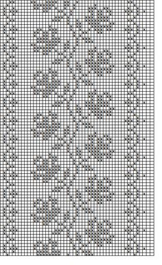 "Diy Crafts - Filet crochet roses on a vine chart ""Filet crochet beaded wrist warmers pattern - roses§ schema di ricamo per scaldapolsi §"", ""hk Filet Crochet Charts, Crochet Borders, Crochet Diagram, Knitting Charts, Crochet Patterns, Cross Stitch Rose, Cross Stitch Borders, Cross Stitch Flowers, Crochet Curtains"