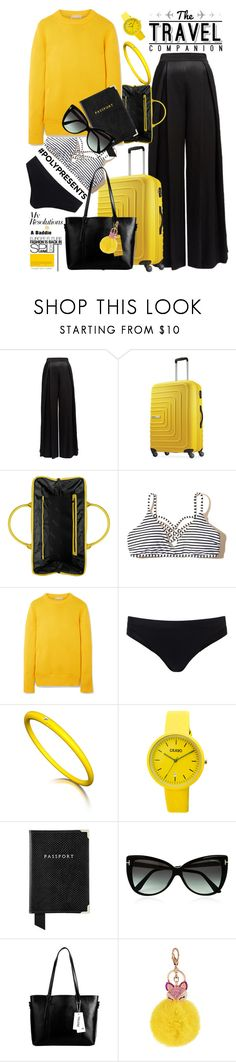 """""""#PolyPresents: New Year's Resolutions"""" by felicitysparks ❤ liked on Polyvore featuring Lonely Planet, American Tourister, Lipault, Hollister Co., Michael Kors, Sweaty Betty, Crayo, Aspinal of London, Tom Ford and contestentry"""