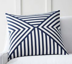 Emmet Pillow Cover | Pottery Barn